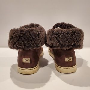 UGG Shoes - UGG AUSTRALIA SN 1013908 CROFT LUXE QUILT FUR LEAT